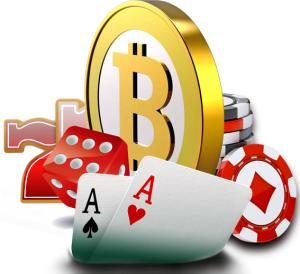 Casino games using bitcoin